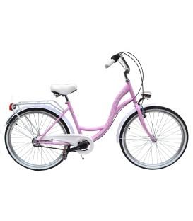 Rower Gullieta Różowy 28 Shimano