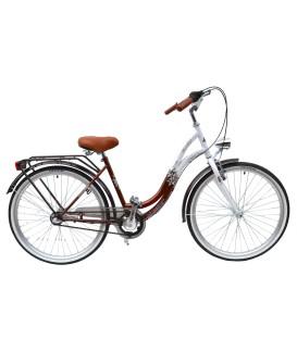 Rower Mexller Rossa Miętowy 26 Shimano